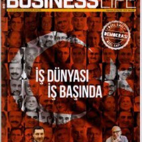 """İlker Tabak Business Life Dergisi'nin """"İş Dünyası İş Başında"""" adlı özel dosyasında"""