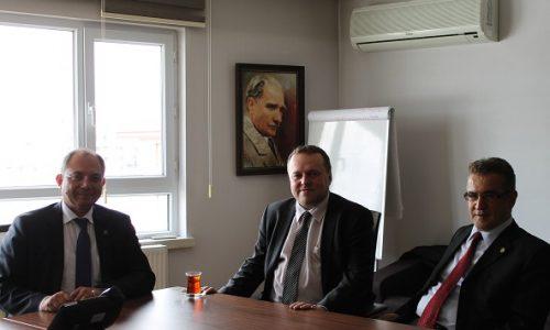 CEPIS ECDL Yöneticisi Jakub Christoph TBD'nin misafiri olarak Ankara'da…