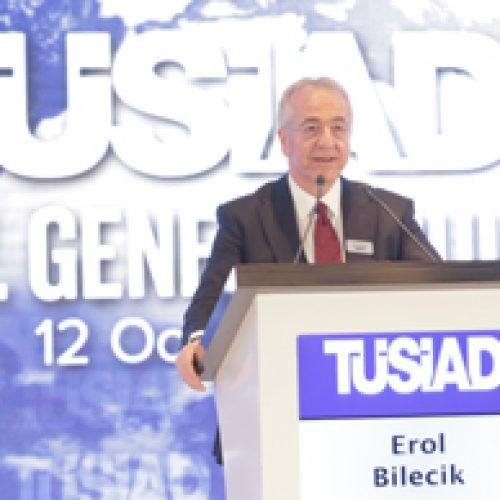 Erol Bilecik TÜSİAD Yönetim Kurulu Başkanı Seçildi