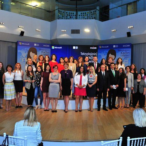 Teknolojinin Kadın Liderleri ödülleri sahiplerini buldu