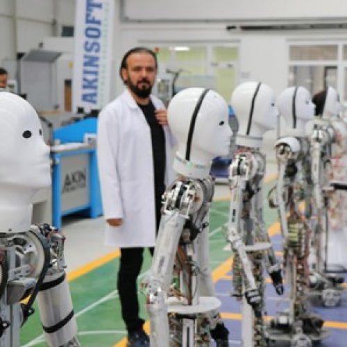 Türkiye'nin İlk İnsansı Robot Fabrikası Üretimine Başladı
