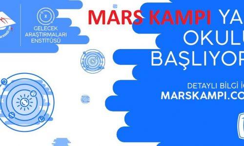 Mars Kampı Yaz Okulu, 18 Haziran'da başlıyor!