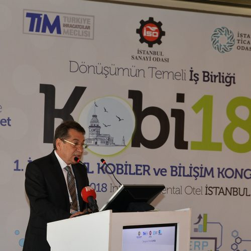 """TBD """"1. İstanbul KOBİ'ler ve Bilişim Kongresi"""" Gerçekleştirildi"""