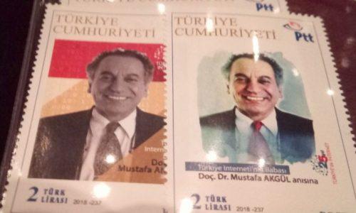 Mustafa Akgül Adına Pul Bastırıldı