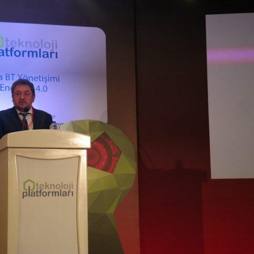"""Teknoloji Platform'larının 2017 ilk etkinliği Ankara'da """"Kamuda BT Yönetişimi ve Endüstri 4.0""""  ana temasında gerçekleşti"""