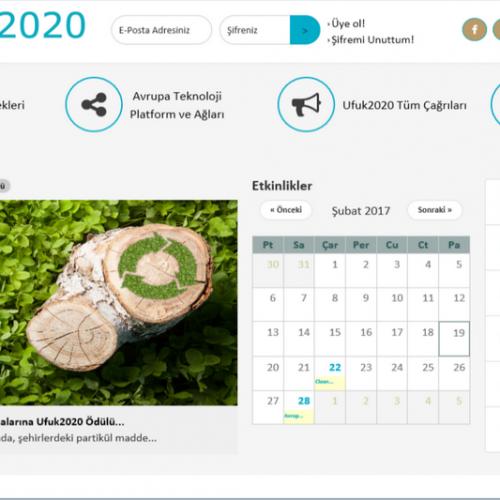 Ufuk 2020'nin Yeni Web Sitesi Erişime Açıldı