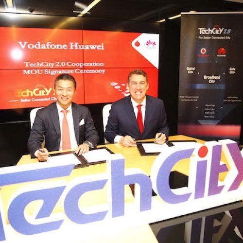 Huawei ve Vodafone Türkiye'de Techcıty 2.0 Projesini Başlattı