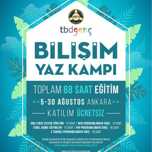 TBD Genç Bilişim Yaz Kampı Başlıyor!