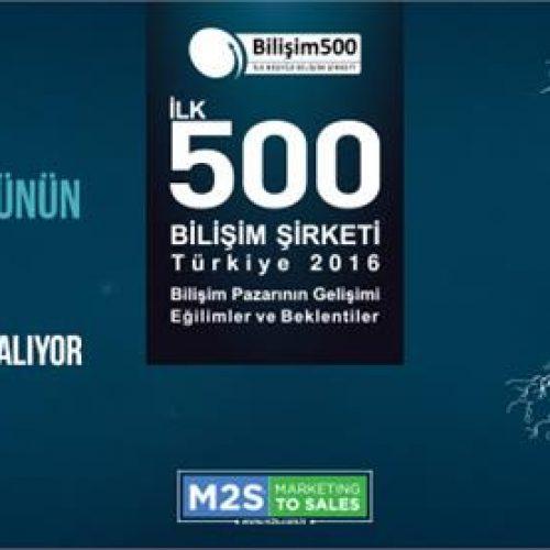 Bilişim 500 Ödülleri Sahipleri ile Buluşuyor