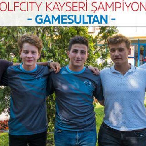 Wolfcity Kayseri Turnuvası'nda şampiyon Game Sultan oldu