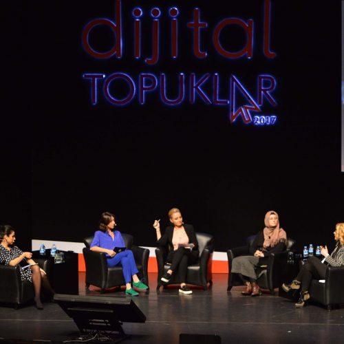 Türkiye'nin Tek Kadın Zirvesi #dijitaltopuklar2017 Trending Topic Oldu!