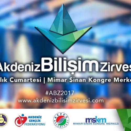 3. Akdeniz Bilişim Zirvesi Bu Yıl 9 Aralık'ta!