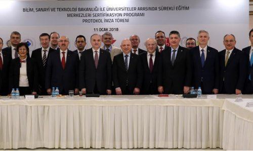 Boğaziçi Üniversitesi ile Bilim, Sanayi ve Teknoloji Bakanlığı el sıkıştı: Teknoloji ve sanayide işgücü niteliğini artırma projesi