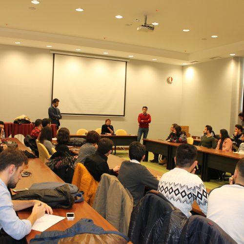 TBD Genç Tanışma Toplantısı Yapıldı