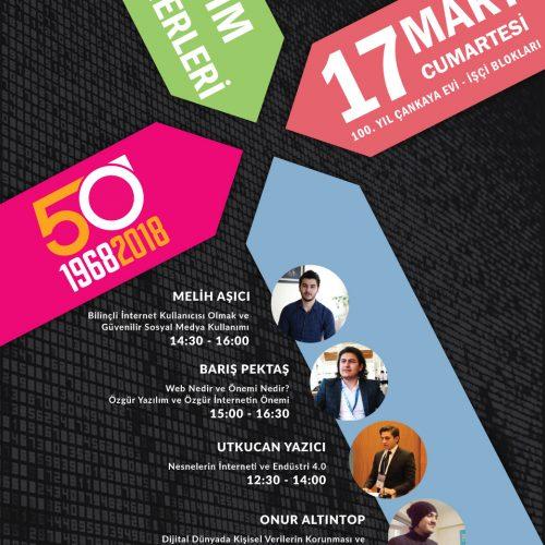 Rotaract'ın 50.Yılı Etkinliğinde TBD Genç Bilişim Seminerleri Verecek