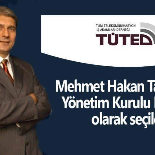 TÜTED'de Bayrak Değişimi